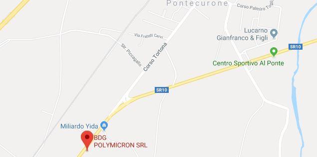 dove siamo BDG PolymicronSRL mappa